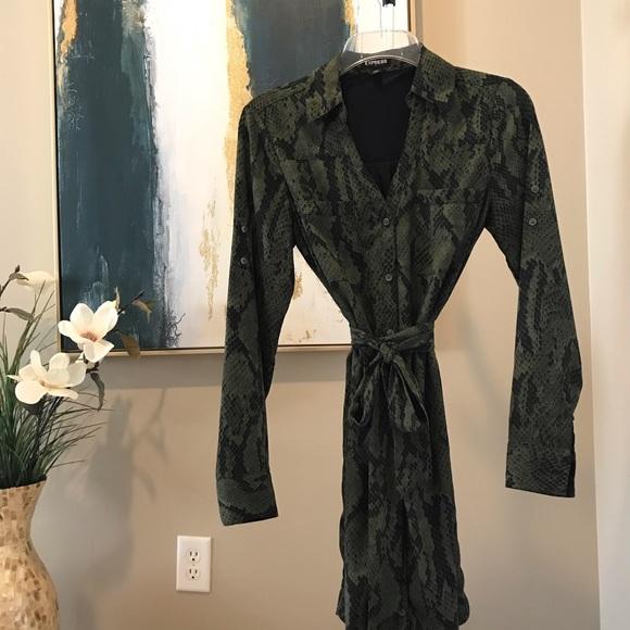 Express Dresses & Skirts - Express Python Dress